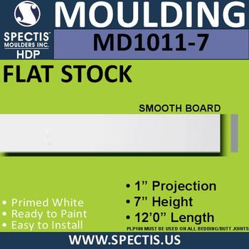 """MD1011-7 Spectis 1"""" Flat Trim 1""""P x 7""""H x 144""""L"""