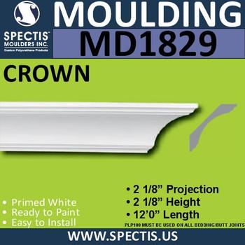 MD1829 Crown Molding Trim decorative spectis urethane