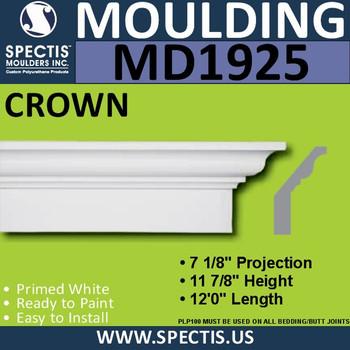 MD1925 Crown Molding Trim decorative spectis urethane
