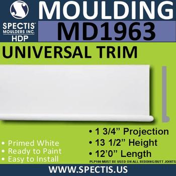 MD1963 Universal Molding Trim decorative spectis urethane