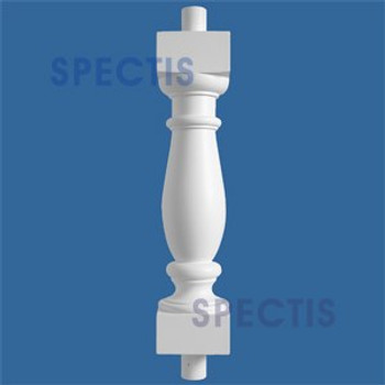 """BAL2011-20 Urethane Baluster or Spindle 4 1/2""""W X 20""""H"""
