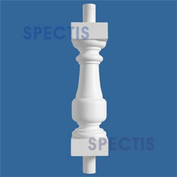 """BAL2026-16 Urethane Baluster or Spindle 4 1/2""""W X 16""""H"""