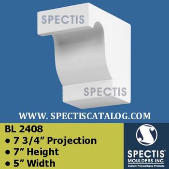 "BL2408 Corbel Block or Eave Bracket 5""W x 7""H x 7.75"" P"