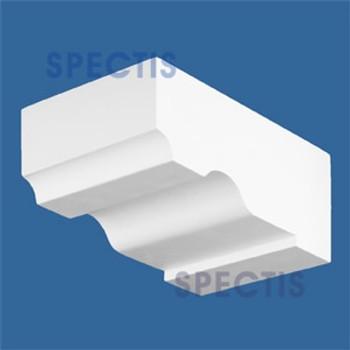 "BL2449 Corbel Block or Eave Bracket 6""W x 3.75""H x 9"" P"