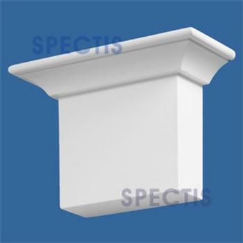"BL2454 Corbel Block or Eave Bracket 17.5""W x 11.25""H x 7"" P"