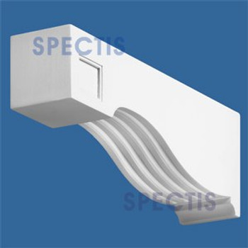 "BL2485 Corbel Block or Eave Bracket 3.5""W x 5.25""H x 15.75"" P"