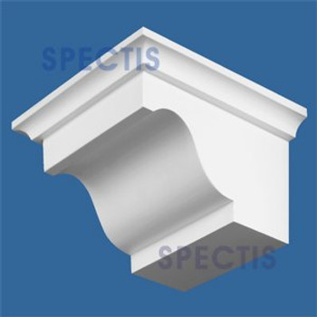 "BL2509 Corbel Block or Eave Bracket 8.5""W x 5.75""H x 10"" P"