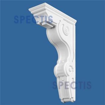 "BL2522 Corbel Block or Eave Bracket 6.5""W x 26""H x 14.5"" P"