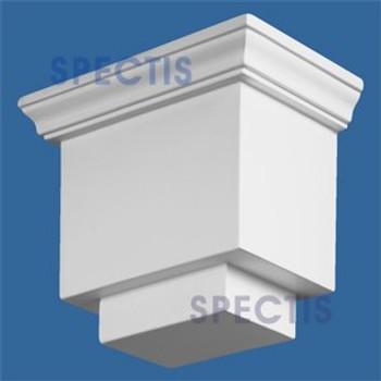 "BL2523 Corbel Block or Eave Bracket 6.5""W x 5.5""H x 4.25"" P"