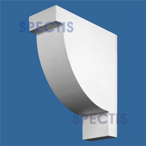 "BL2553 Corbel Block or Eave Bracket 6""W x 17.5""H x 15"" P"