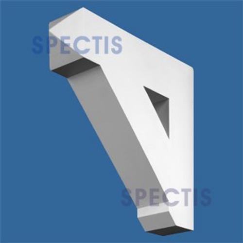 "BL2558 Corbel Block or Eave Bracket 3.5""W x 13.5""H x 15.25"" P"