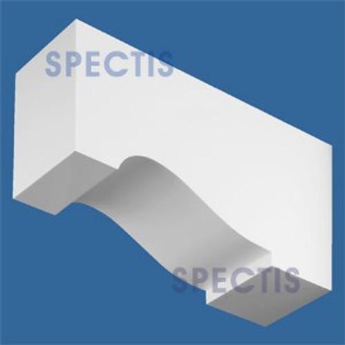 "BL2572 Corbel Block or Eave Bracket 3.5""W x 5""H x 9.75"" P"