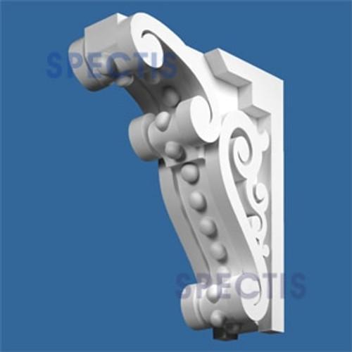"BL2574 Corbel Block or Eave Bracket 7.5""W x 24""H x 23"" P"