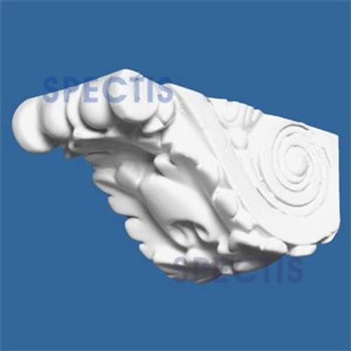 "BL2581 Corbel Block or Eave Bracket 1.37""W x 1.37""H x 3"" P"