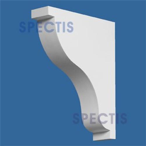 "BL2586 Corbel Block or Eave Bracket 3""W x 14.25""H x 11.25"" P"