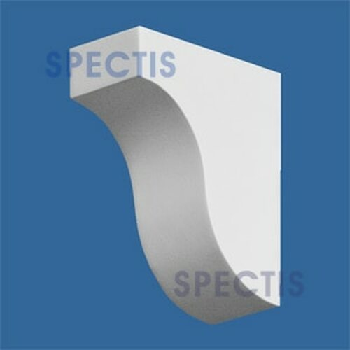 "BL2587 Corbel Block or Eave Bracket 1.5""W x 3.5""H x 3"" P"
