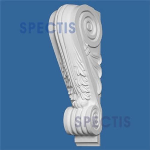 "BL2666 Corbel Block or Eave Bracket 5""W x 22.5""H x 9.75"" P"