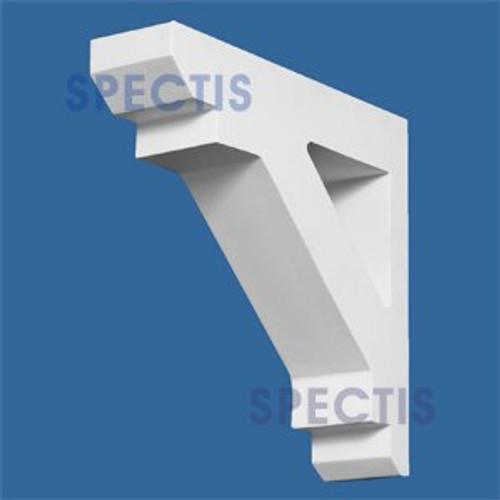 "BL2671 Corbel Block or Eave Bracket 3""W x 11.5""H x 11.5"" P"