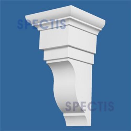 "BL2679 Corbel Block or Eave Bracket 8.1""W x 14.9""H x 7.9"" P"