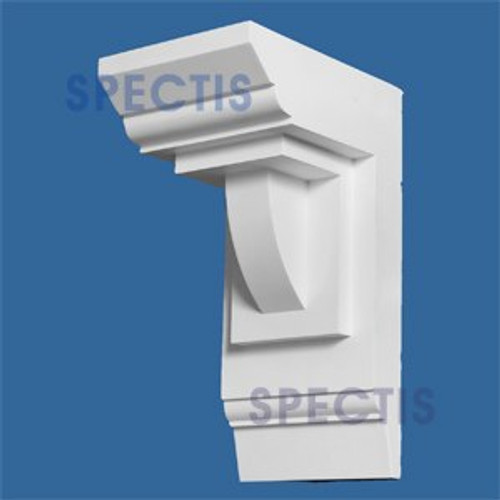"BL2680 Corbel Block or Eave Bracket 7""W x 14.5""H x 9"" P"