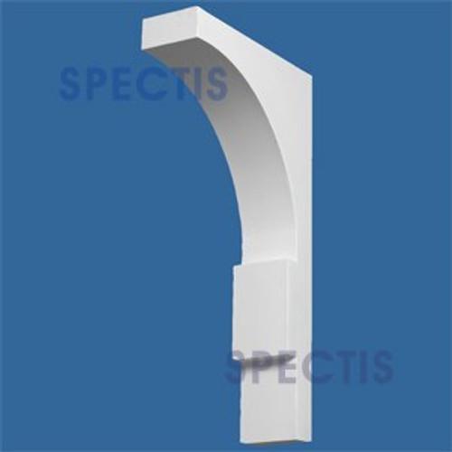 "BL2737 Corbel Block or Eave Bracket 4""W x 12.25""H x 23.75"" P"