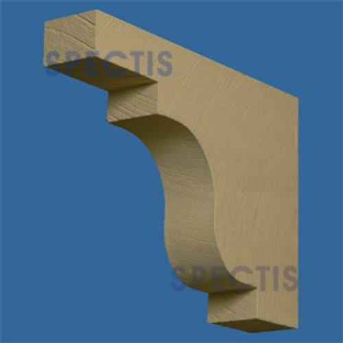 "BL2815RS Corbel Block or Eave Bracket 4""W x 16""H x 22"" P"