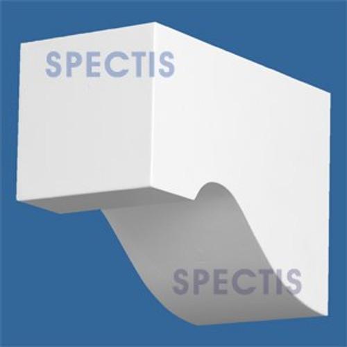 "BL2823 Corbel Block or Eave Bracket 3.7""W x 5.5""H x 7.8"" P"