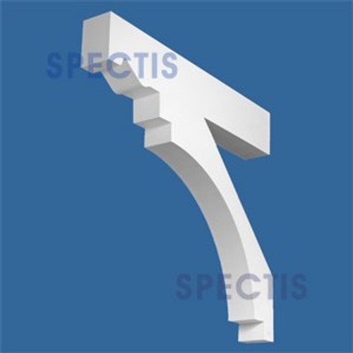 "BL2828 Corbel Block or Eave Bracket 3.5""W x 28""H x 30"" P"
