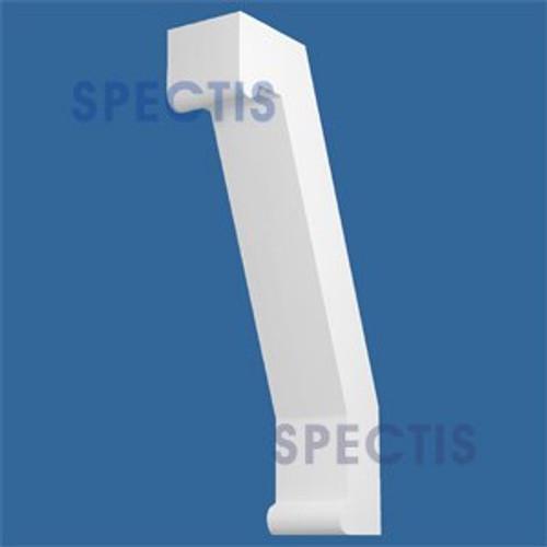 "BL2856 Corbel Block or Eave Bracket 8""W x 44.75""H x 23.5"" P"
