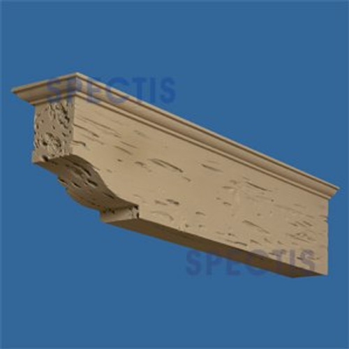 "BL2898PC Corbel Block or Eave Bracket 9.25""W x 6""H x 35.25"" P"