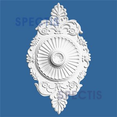 "CM1221 12"" x 21"" Oblong Ceiling Medallion"