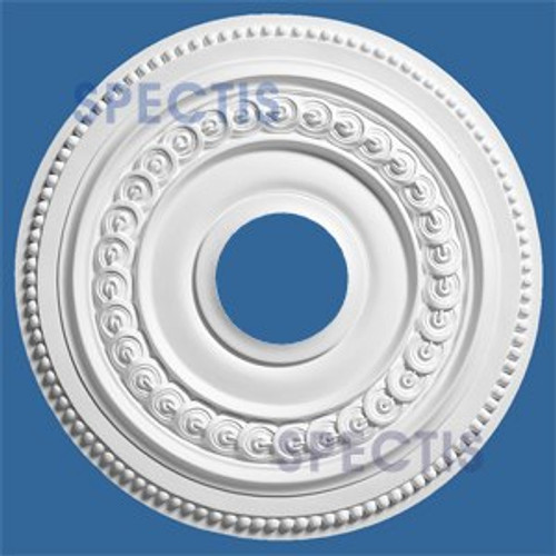 "CM1818C 17.75"" Round Decorative Ceiling Medallion 4.25"" Hole"