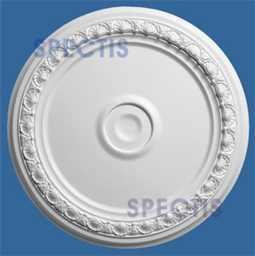 "CM2424SB Decorative Ceiling Medallion 1"" Hole x 24-3/8"" Round"