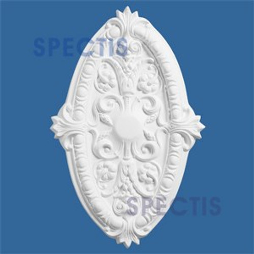 "CM2717 Oblong Decorative Ceiling Medallion 27"" x 17.5"""