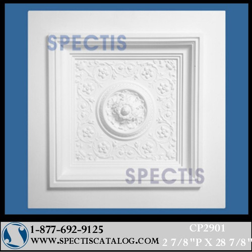 "CP2901 28 7/8"" Square Decorative Ceiling Panel"