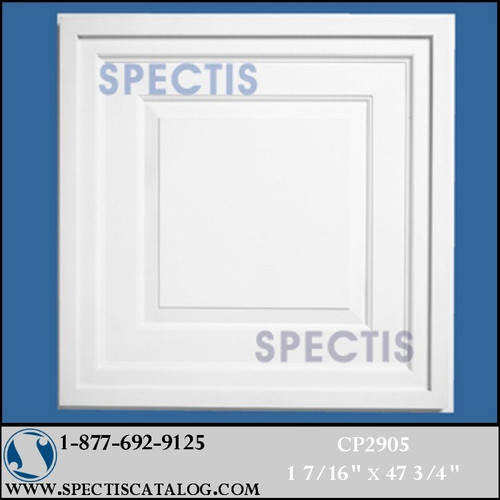 "CP2905 47 3/4"" Decorative Square Ceiling Panel"