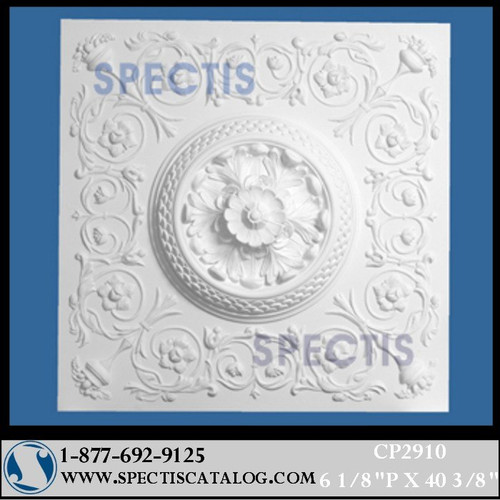 "CP2910 40 3/8"" Square Decorative Ceiling Panel"