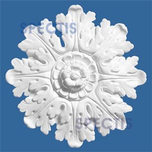 "CR9 8 3/4"" Snowflake Shaped Decorative Rosette"