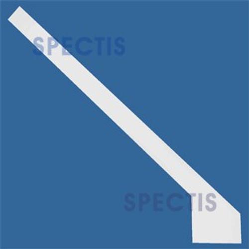 FAC18126L Urethane 12/12 Pitch Left Side Rake Trim