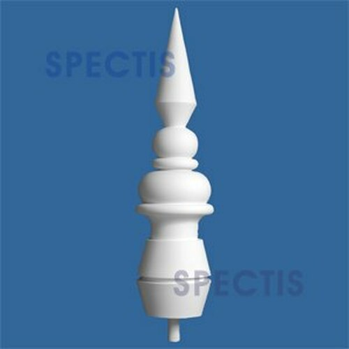 "FIN102 Spectis Urethane Finial 8 7/16"" x 32 1/4"""