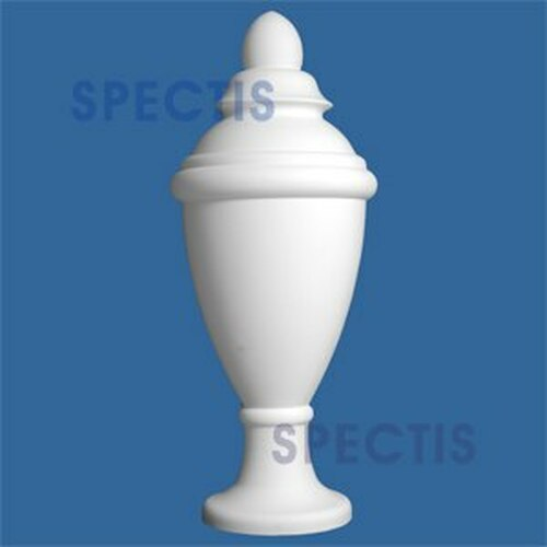 """FIN115 Urn Style Spectis Urethane Finial 19 1/4"""" x 48"""""""