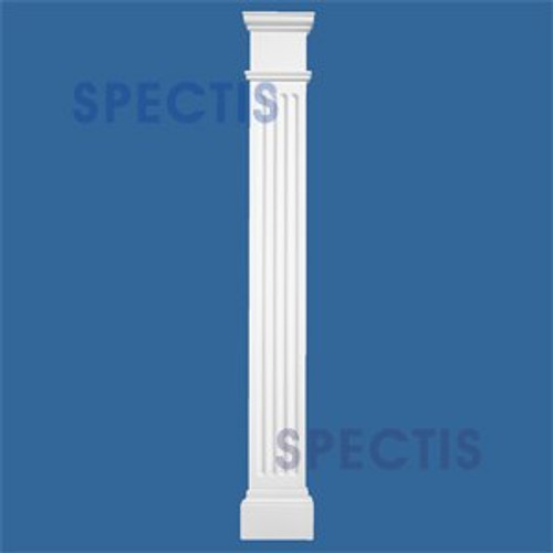 "FP7248P 6 5/8"" x 48"" Urethane Fireplace Pilasters Sides"