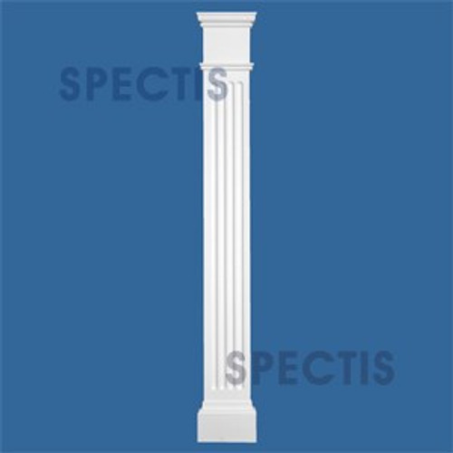 "FP7254 6 5/8"" x 54"" Urethane Fireplace Pilasters Sides"