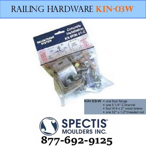 KIN 03-W Wood Anchor Hardware