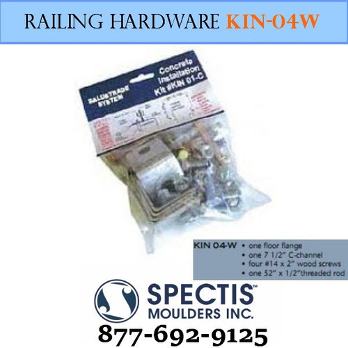 KIN 04-W Wood Anchor Hardware
