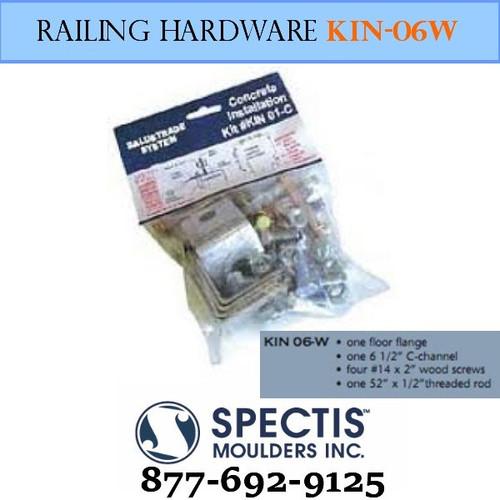 KIN 06-W Wood Anchor Hardware