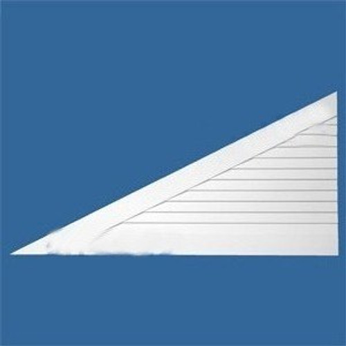 LCT12040L Urethane Louvre Closed Triangle 120 x 40 Left
