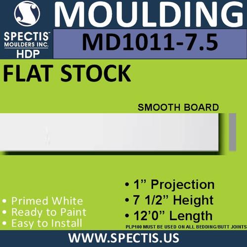"""MD1011-7.5 Spectis 1"""" Flat Trim 1""""P x 7 1/2""""H x 144""""L"""