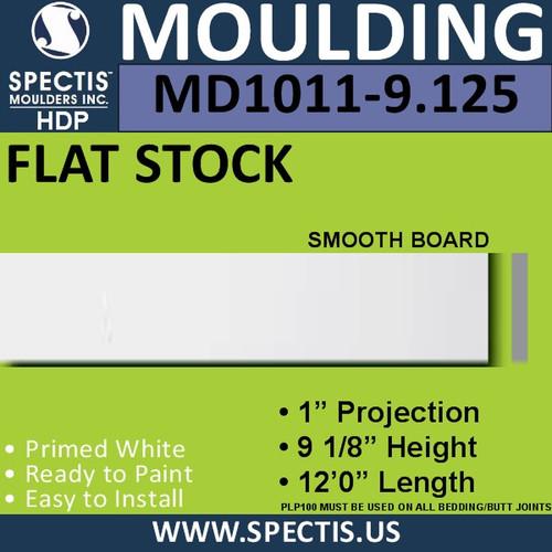 """MD1011-9.125 Spectis 1"""" Flat Trim 1""""P x 9 1/8""""H x 144""""L"""