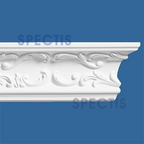 "MD1024 Spectis Decorative Crown Molding 2 1/4""P x 4 5/8""H x 140""L"